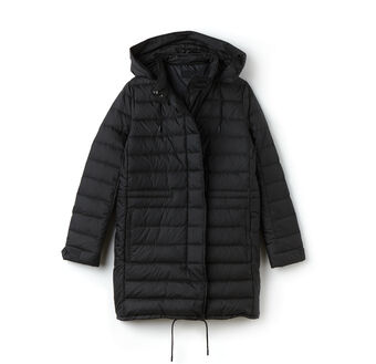 Women's Cinch Waist Padded Coat