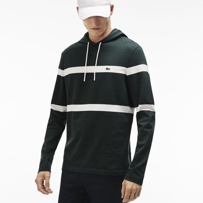 Men's Hoody Stripe T-Shirt