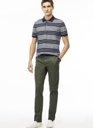 Men's Regular Fit Twill Chino Pants