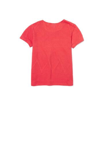 Kids' Jacquard Laser Mesh T-Shirt