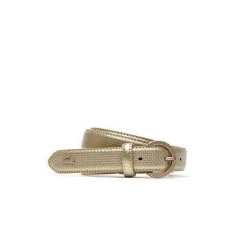 Women's Special Edition Chantaco Piqué Print Leather Belt