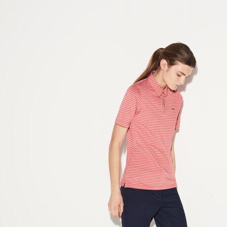 라코스테 스포츠 골프 폴로 티셔츠 Lacoste Womens SPORT Teardrop Neck Golf Polo,alice/white