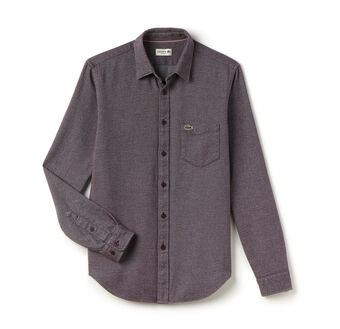 Men's Casual Flannel Woven Shirt
