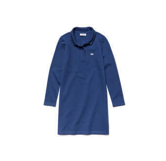 Kids' Piqué Polo Dress