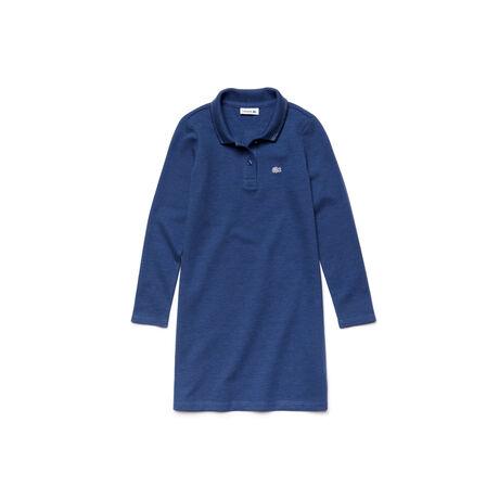 Kids' Piqué Polo Dress
