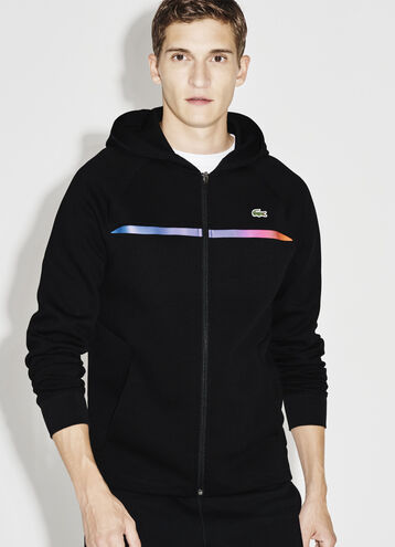 Men's SPORT Hooded Zippered Tennis Sweatshirt