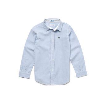Boy's Seersucker Shirt
