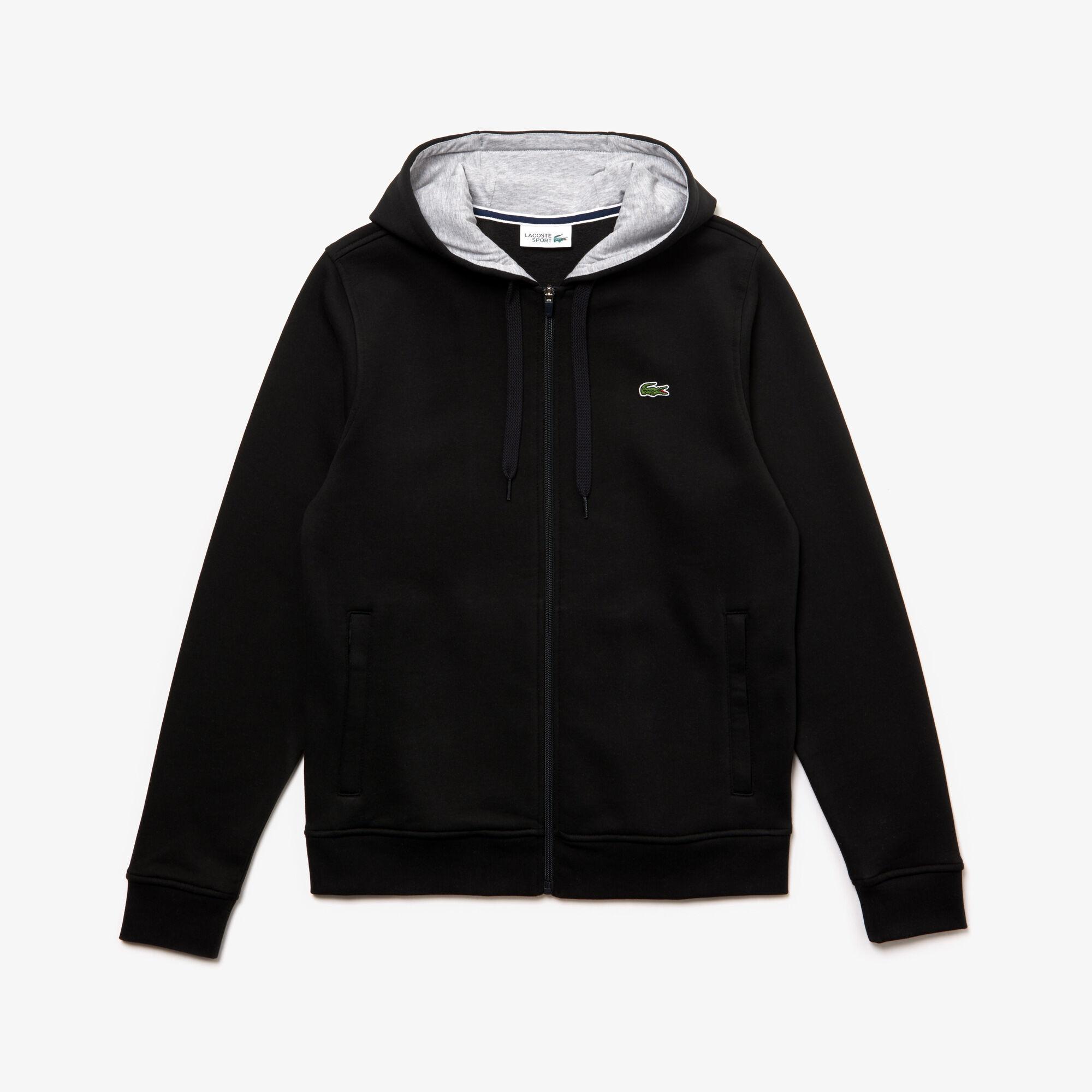burgundy lacoste hoodie