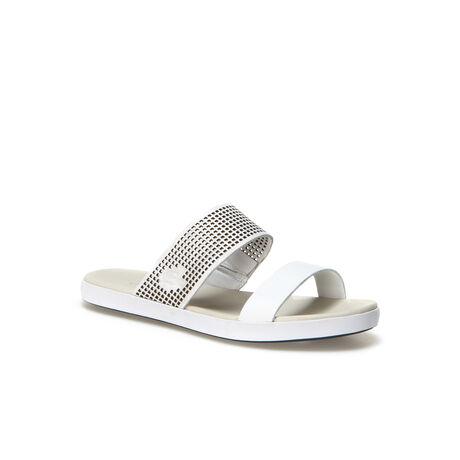 Women's Natoy Color Block Leather Slide Sandals