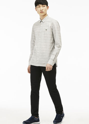 Men's Lacoste L!VE Denim Canvas Jeans