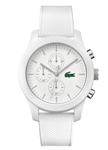 Unisex Lacoste.12.12 Chronograph White Watch