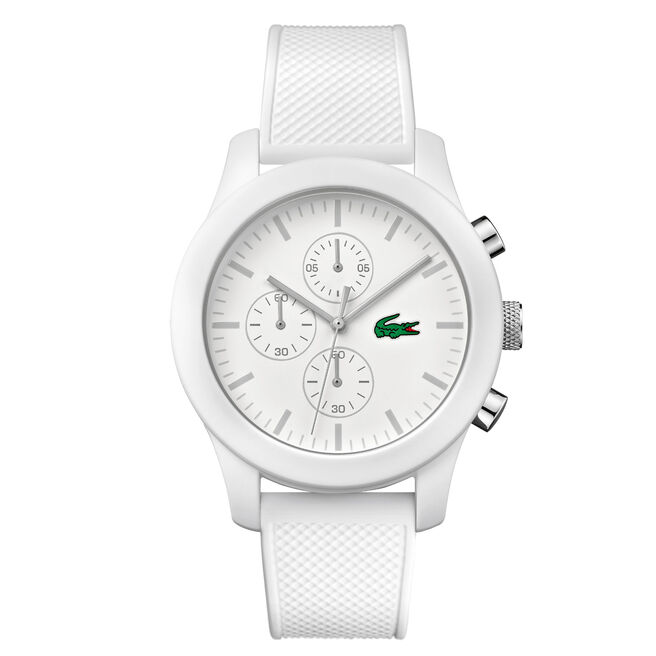 Unisex Lacoste.12.12 Chronograph White Watch