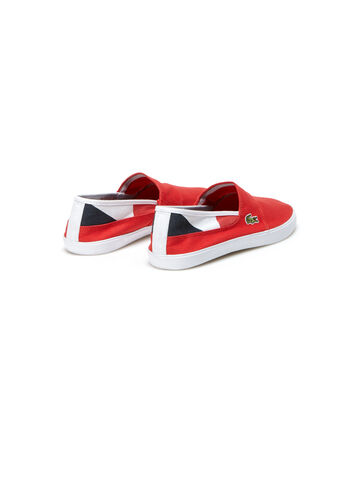 Men's Marice Lace Colorblock Canvas Slip-Ons