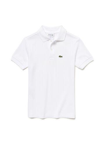 Kids' Short Sleeve Classic Piqué Polo Shirt