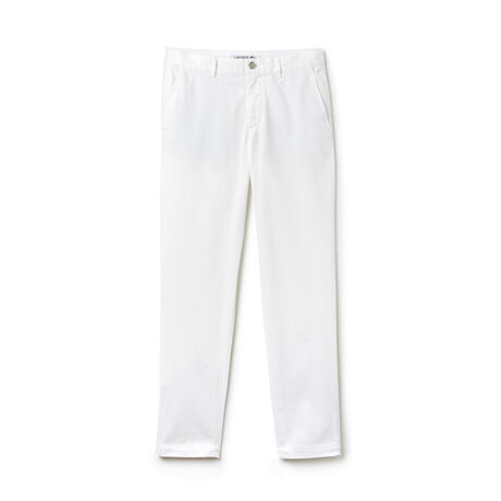Men's Slim Fit Cotton Gabardine Chino Pants