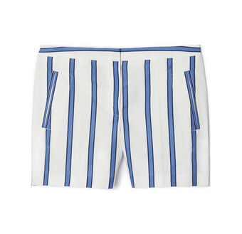 Multi Stripe Printed Shorts