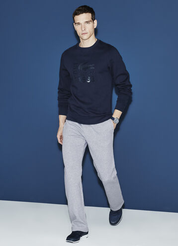 DRAWSTRING FLEECE PANT