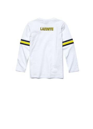 Kids' Long Sleeve Varsity T-Shirt