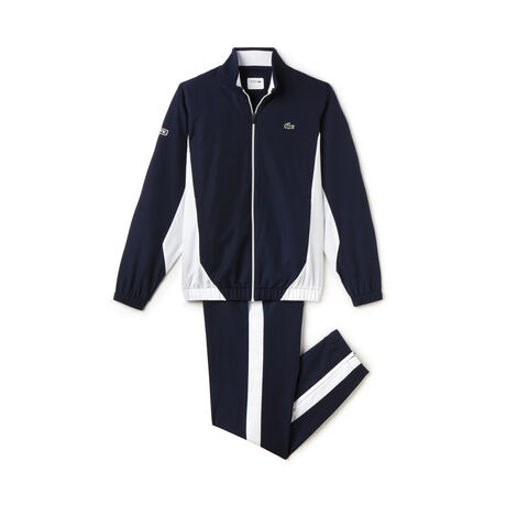 Men's SPORT Taffeta Color Block Tennis Tracksuit
