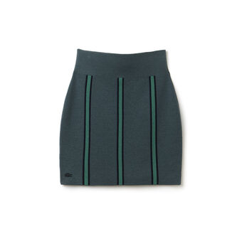 "Women's ""Made in France"" Vertical Sweater Skirt"