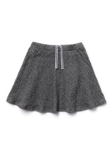 Girl's Drawstring Knit Skirt