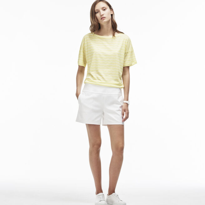 Women's Tightly Knit Milano Cotton Bermuda Shorts