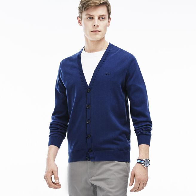 Men's Jersey Cardigan