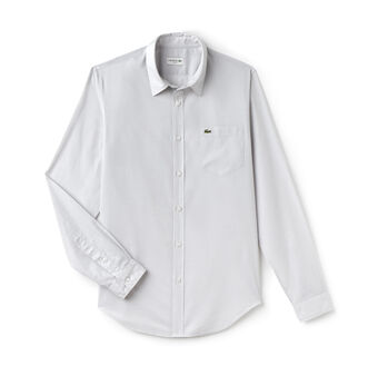Men's Slim Fit Cotton Voile Shirt