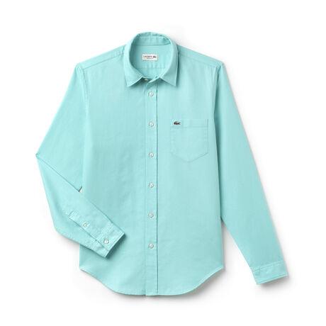 Men's Regular Fit Cotton Piqué Shirt