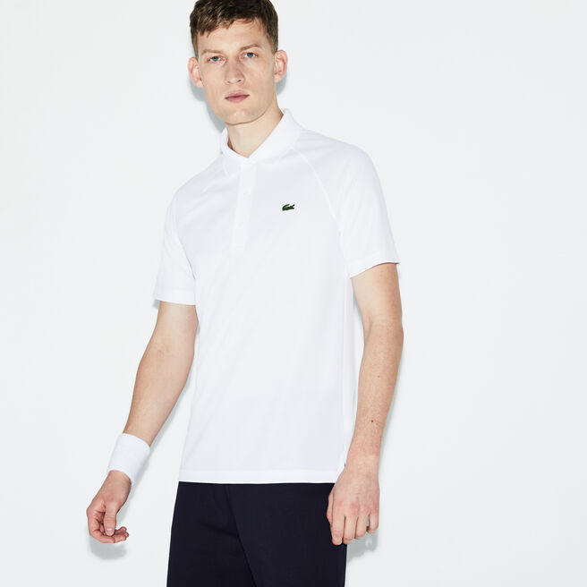 Men's Sport Ultra Dry Raglan Sleeve Tennis Polo Shirt