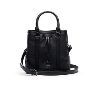 Women's René Monochrome Leather Bucket Bag