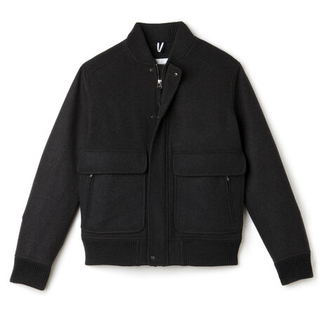 Men's Wool Bomber