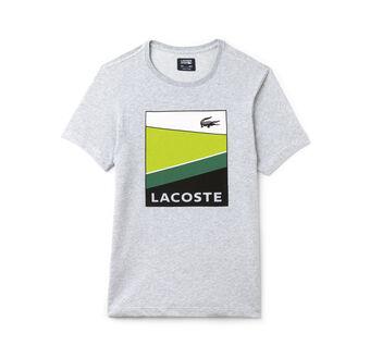 Men's SPORT Colorblock Print Jersey Tennis T-shirt