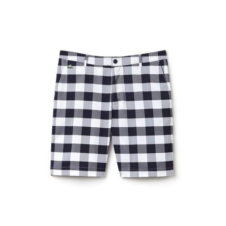 Men's SPORT Gingham Plaid Golf Shorts