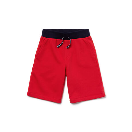 Kids' Cotton Fleece Waistband Bermuda Shorts