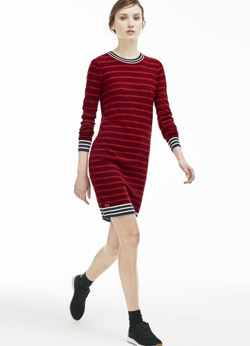 Women's Wool Striped Dress