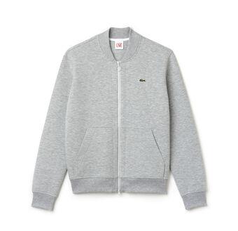 Unisex L!VE Double Face Bomber Sweatshirt Jacket