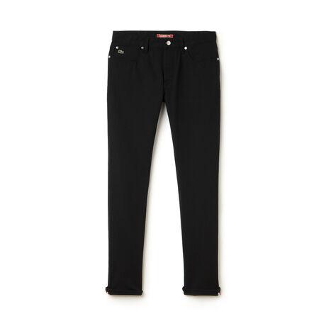 Men's Lacoste L!VE Denim Canvas Jeans
