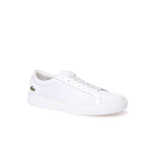 Men's L.12.12 Piqué Textile Sneakers