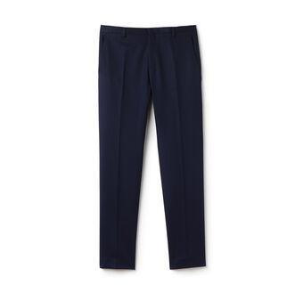 Men's Cotton Linen Piqué Chino Pants