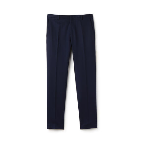Men's Cotton Linen Piqué Chino Pants