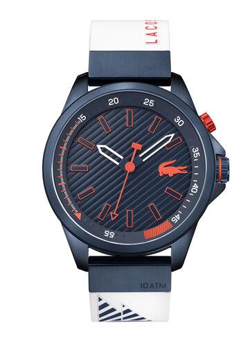 Men's Cabreton White Silicone Strap Watch