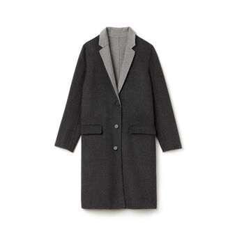Women's Classic Wool Long Coat