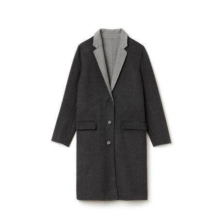 Women's Classic Wool Long Coat