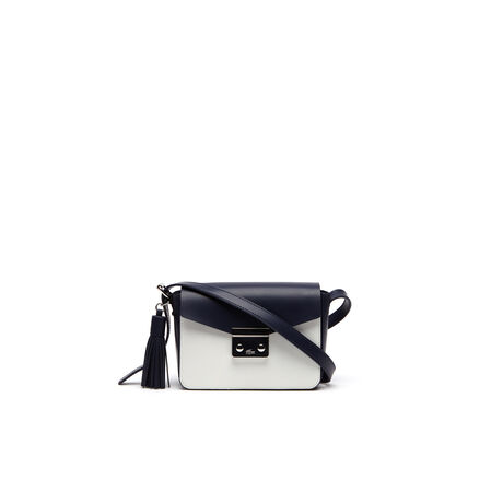 Women's L!VE Coated Leather Mini Tennis Square Crossover