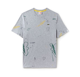 Men's L!VE Crew Neck Print Jersey T-Shirt