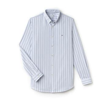 Men's Striped Cotton Shirt