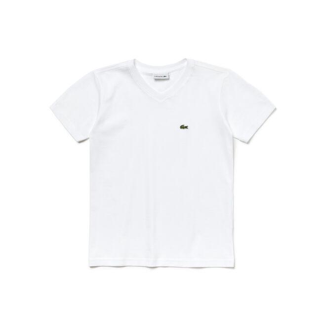 Boy's V-Neck Cotton T-Shirt