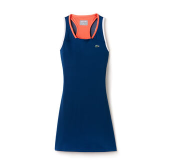 Women's SPORT Mesh Layer Racerback Technical Tennis Dress