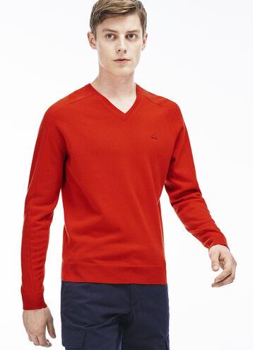 Men's Cashmere V-Neck Sweater